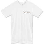 MY RUN - Design - 2  American Apparel T-Shirt