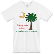 Buy a Nothing Finer than Christmas in Carolina Palmetto Moon American Apparel T-Shirt. Nothing could be finer than Christmas in Carolina.