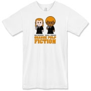 Orange Pulp Fiction Men's T-Shirt