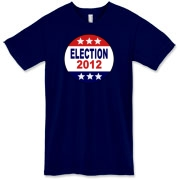 Vote 2012 Election President Precedent Preselect Presedent Primary Governor Govenor Star Design Lady