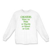 Cheaters Kids Long Sleeve T-Shirt