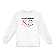 Disney Dudes Podcast Warning Kids Long Sleeve T-Sh