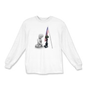 Fallen Soldiers Kids Long Sleeve T-Shirt