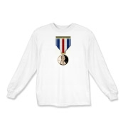 Pennies For Heroes Medal Kids Long Sleeve T-Shirt