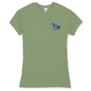 Women's shirts seem run on the small side. Please check the sizing chart. You may want to consider ordering a size up.