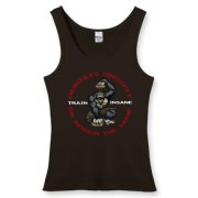 Train Insane Women's Fitted Tank Top