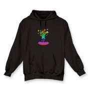 Lava Lamp Rainbow Hooded Sweatshirt