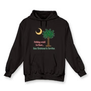 Buy a Nothing Finer than Christmas in Carolina Palmetto Moon Hooded Sweatshirt. Nothing could be finer than Christmas in Carolina.