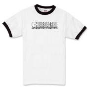 Ringer T-Shirt - Cheesecake (blk)
