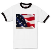 OLD GLORY -  Ringer T-Shirt