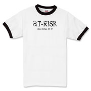 AT-RISK Ringer T-Shirt