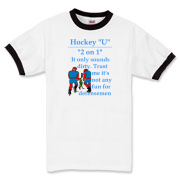 2 on 1 Ringer T-Shirt