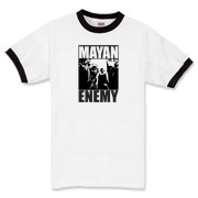 Mayan Enemy - Ringer T-Shirt