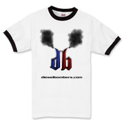 DB Smoking Ringer T-Shirt