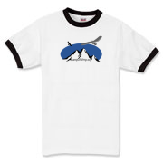 HG.org snow-mountain  Ringer T-Shirt