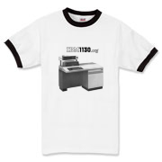 1131 (with partial schematic) Ringer T-Shirt