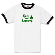 Grow our economy tshirt! Tell Barack Obama how you really feel about this issue!