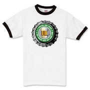 Men's Ringer T-Shirt with Green 365 Bars Logo!