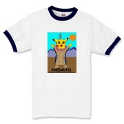 It's a hybrid. 1/2 Pokemon 1/2 Pokachontas exclusively at Rick Londonwear. Available on 