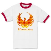 Phoenixter Logo on the front; Trefoil Academy emblem on the back.