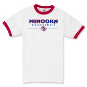 MINOOKA basketball Ringer T-Shirt