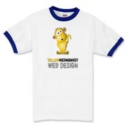 YellowWebMonkey Ringer T-Shirt