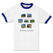 All Seven of the New Wonders of the World pictured on a vast variety of shirts for men, women and children.  See these miraculous places before you die!