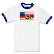 Don't Tread on me- Revolutionary Ringer T-Shirt