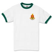 158th Artillery, MLRS - Light Color Ringer T-Shirts: Front & Back Insignia, Available in 7 Light Colors.