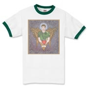 Angel Dean Ringer T-Shirt