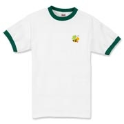 Bee with Logo on Back,  Ringer T-Shirt