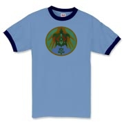 Turtle Hands Ringer T-Shirt