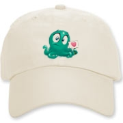 Squirmy lil' Slimy is here to grace your lid.