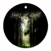 Seers of Light Round Ornament