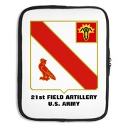 21st Field Artillery - Laptop Sleeve / Carrying Case