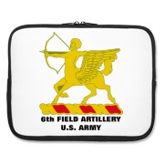 6th Field Artillery - Laptop Sleeve / Carrying Case