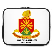 158th Artillery, MLRS - Laptop Sleeve / Carrying Case.