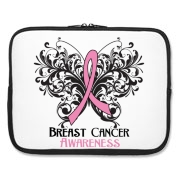 Breast Cancer Awareness Butterfly Pink Ribbon shirts and gifts in a stand-out style to advocate