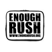 Enough Rush iPad Sleeve
