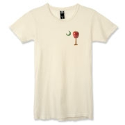 Buy a School Apple Palmetto Moon Alternative Apparel Women's Destroyed T-Shirt. Made especially for teachers, it features the South Carolina palmetto with a smaller apple and chalkboard moon printed on the left chest area.
