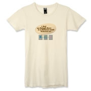 Distance Alternative Women's Destroyed T-Shirt