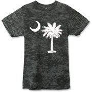 Buy a White Palmetto Moon Alternative Apparel Burnout T-Shirt 		. The palmetto moon is a symbol of South Carolina pride.