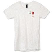 Buy a School Apple Palmetto Moon Alternative Apparel Women's Burnout T-Shirt. Made especially for teachers, it features the South Carolina palmetto with a smaller apple and chalkboard moon printed on the left chest area.