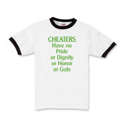 Cheaters Kids Ringer T-Shirt