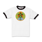 Turtle Hands Kids Ringer T-Shirt