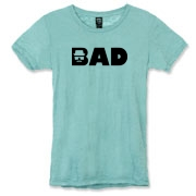Awesome stylized Breaking Bad shirt design features the word Bad in big and bold lettering but my custom Heisenberg logo makes up the B letter givng the word a whole new meaning once someone notices it. This is probably my most favorite Breaking Bad shirt