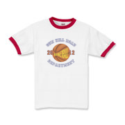 2012 Basketball - Kids Ringer T-Shirt