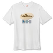 Distance Between Us Hanes Cool Dri T-shirt