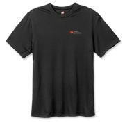 Hanes Cool Dri T-shirt, Black or Navy