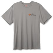 Hanes Cool Dri T-shirt, White or Graphite